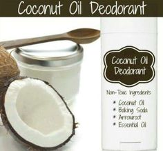 Who wants some natural deodorant?  Free from unwanted and unhealthy chemicals!  Coconut Oil Deodorant: 2 -3 tablespoons coconut oil, 6 tablespoons baking soda, 6 tablespoons organic cornstarch (or arrowroot powder), 5 drops of essential oil, such as tea tree oil, lavender, or lemon grass, mix well.  Add or Follow me: http://www.facebook.com/schernandez1969  Get your Skinny on! 100% natural! NO wraps! NO shakes! NO fake food! NO hormones!! Start here: http://angelsarah2013.SBC90.com/