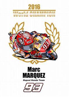 Marc Márquez campeón del mundo 2016