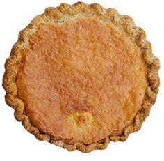 BUTTERCREAM GANG - Buttermilk pie with a shortbread crust @ emporiumpies.com/