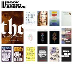 The Book Cover Archive // arquivo de capas de livro