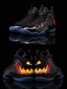 "Nike Air Foamposite ""Jack O' Lattern"""
