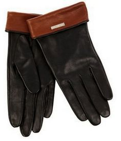 Cheaper and arguably more chic than a pair of hunt boots | On Trend: Brown top gloves