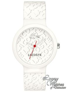 Lacoste - Unisex White Goa Watch - 2010547 Online price  £50.00  www.lingraywatches.co.uk 303586969f
