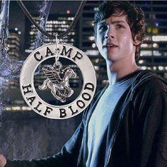 Camp Half-Blood Percy Jackson Necklace