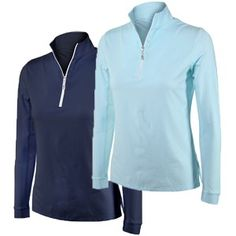 Tailored Sportsman Icefil Zip Top Shirt