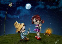 """Gravura do Dia dos Namorados com uma """"pitada"""" de Festa Junina"""