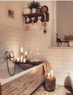 Cosy bathroom Gemütliches Badezimmer Best Picture For dream House For Your Taste You are looking for something, and it is going to tell you exactly what you are looking for, a Bad Inspiration, Bathroom Inspiration, Cosy Bathroom, Bathroom Ideas, Small Bathroom, Bathroom Remodeling, Remodeling Ideas, Master Bathroom, Light Bathroom