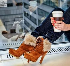 shoes, gucci, fashion, winter shoe, cocoa, heel, coffee, brown boots, cold days