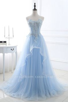 Prom Dress For Teens, 2019 A Line Prom Dresses Sweetheart Tulle With Applique Sweep Train, cheap prom dresses, beautiful dresses for prom. Best prom gowns online to make you the spotlight for special occasions. Cheap Short Prom Dresses, Sparkly Prom Dresses, Cheap Gowns, A Line Prom Dresses, Prom Dresses For Sale, Mermaid Prom Dresses, Pretty Dresses, Beautiful Dresses, Elegant Dresses