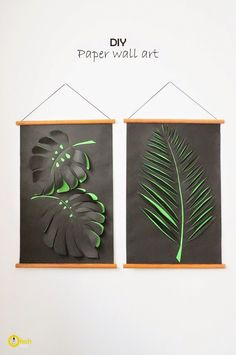 Ohoh Blog - diy and crafts: DIY paper wall art