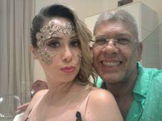 Com Raquel Araújo. Make.up me