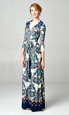 Evelynne Dress in Graceful Blue