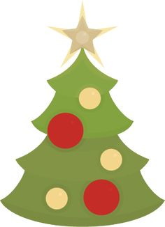 SVGCuts.com free Christmas Tree svg file!
