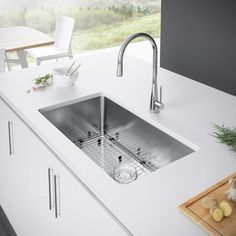 34 best stainless steel kitchen sinks images apron front sink rh pinterest com
