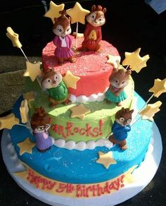 Alvin and the Chipmunks Cake