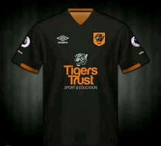 Hull City away shirt for 2016-17.
