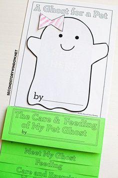 My Pet Ghost writing