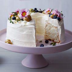 White cloud cake - Sainsbury's Magazine