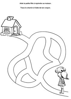 "Képtalálat a következőre: ""Vale Design free printable maze"" Logic Games For Kids, Fun Worksheets For Kids, Mazes For Kids, Printable Preschool Worksheets, Toddler Learning Activities, Preschool Learning Activities, Kids Learning, Free Printable, Diy Busy Books"