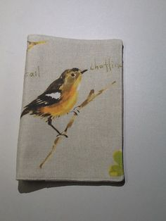 Songbird fabric for jw song books. Gifts for delegates for London 2014 international assembly .