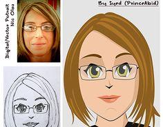 "Check out new work on my @Behance portfolio: ""Digital / Vector Portrait"" http://be.net/gallery/38432429/Digital-Vector-Portrait"