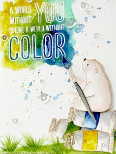 Papell with Love: Color My World