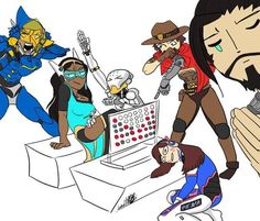 Overwatch Casual Family Dump Round Two. - Imgur