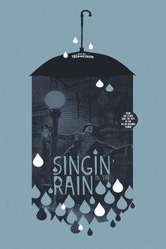 Singin' In The Rain alternative movie by TheArtOfAdamJuresko