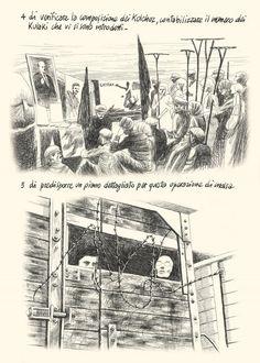 """Tavola tratta da """"Quaderni Ucraini"""" di Igort. Pubblicato da Ed. Mondadori, 2010"""