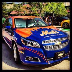 NY Mets car! I want one!