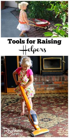 Children want to be just like their caregivers doing chores, working, and using tools. Give kids the tools they need to become the independent helpers they were born to be! Includes simple parenting tips to help your children develop independence and raise helpers.