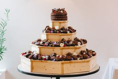 Large Stunning Octagon Cupcake or Brownie Wedding Stand. Designed to hold over a 100 cupcakes or brownies, this stand will be a show stopping feature of your wedding or event. Handmade Wedding, Rustic Wedding, Wedding Cupcakes, Gift Guide, Desserts, Food, Tailgate Desserts, Deserts, Meals