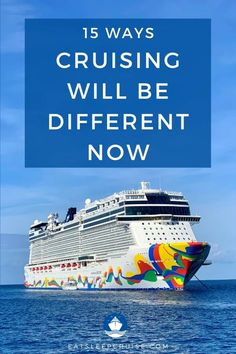 When cruising resumes, what will be different? We share our thoughts in this post, 15 Ways That Cruising Will Change Once the Cruise Suspension is Lifted. Packing For A Cruise, Cruise Tips, Cruise Travel, Cruise Vacation, Disney Cruise, Cruise Excursions, Cruise Destinations, Cruise Port, All Inclusive Cruises