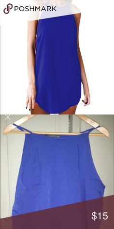 Dress Spaghetti strap dress, goes higher up on the neckline! Great comfortable fabric Dresses