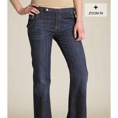 Vigoss Flare Leg Mandarin Jeans Brand new- never worn. Flare leg Vigoss Jeans Flare & Wide Leg