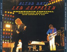 Led Zeppelin - Blind Date (6CD) - Live at Knebworth Festival Stevenage England, 4th August & 11th August 1979