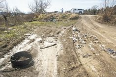 Littering, illegal dumping- a constant problem at Leadvale Lake Access in White Pine. – STEVE MARION | THE STANDARD BANNER
