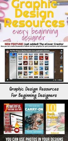 Designing graphics is easy with the right graphic design resources. For beginners and experienced designers. Graphic Design Invitation, Graphic Design Brochure, Graphic Design Books, Japanese Graphic Design, Modern Graphic Design, Logo Design, Christmas Graphic Design, Graphic Design Tattoos, Mockup Creator
