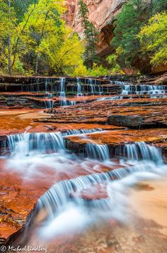 Stairway to Gold (Zion National Park, Utah) by Michael Lindberg on 500px