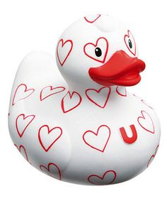 red hearts duck ❤   <3