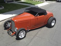 Purveyor of Hot Rods and Parts Rat Rod Cars, Rat Rods, Classic Hot Rod, Classic Cars, 1932 Ford Roadster, Car Man Cave, Hot Rides, Ford Motor Company, Nice Cars