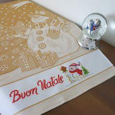 Cross Stitch Kitchen, Xmas, Christmas, Dish Towels, Cross Stitch, Snow Man, Punto De Cruz, Noel, Fantasy