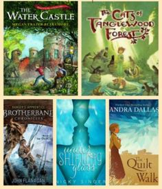 9 new middle grade chapter books recommended by Melissa on Imagination Soup