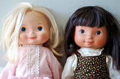 Mandy and Jenny dolls . Bought one of these for @Hannah Wise because I never had one.