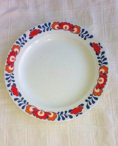 Egersund asjett Stavanger, Scandinavian Living, Norway, Porcelain, China, Plates, Ceramics, Dreams, Retro