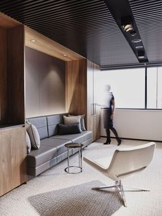 Awesome collaborative work space #office #design #moderndesign