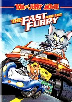 Charles Adler & Jeff Bennett & Bill Kopp-Tom & Jerry: Fast & The Furry Race Around The World, Disney Toms, Drive In Theater, Tom And Jerry, Warner Bros, Box Art, Movies To Watch, Cool Things To Buy, Movies