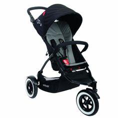 Amazon.com : phil&teds Dot Buggy Stroller, Flint : Infant Car Seat Stroller Travel Systems : Baby