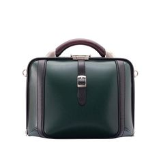 Dagga Sous presents Compact men's or women's green briefcase, fit for the style conscious professional