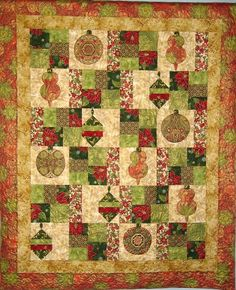 (7) Name: 'Quilting : Holiday Flourish